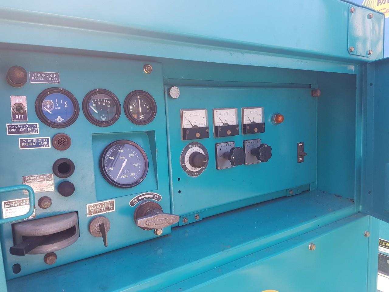 Máy phát điện Hino 60kva cũ